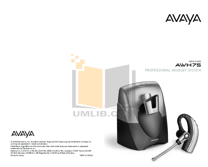 pdf for Avaya Telephone 4630 manual