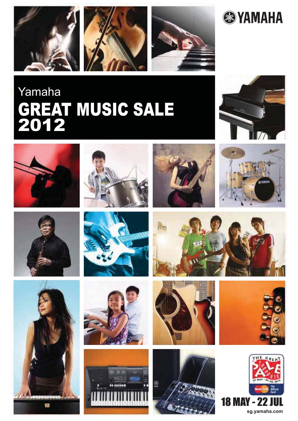pdf for Yamaha Guitar RBX5A2 manual