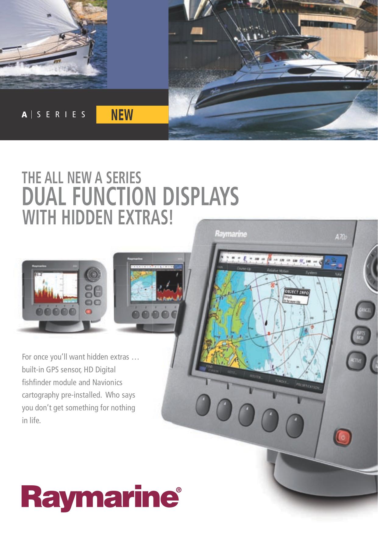 raymarine e series hybridtouch manual