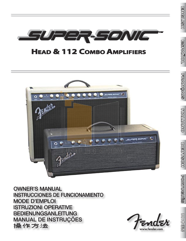 download free pdf for fender super sonic 112 amp manual rh umlib com fender supersonic 22 service manual Fender Super Reverb Head