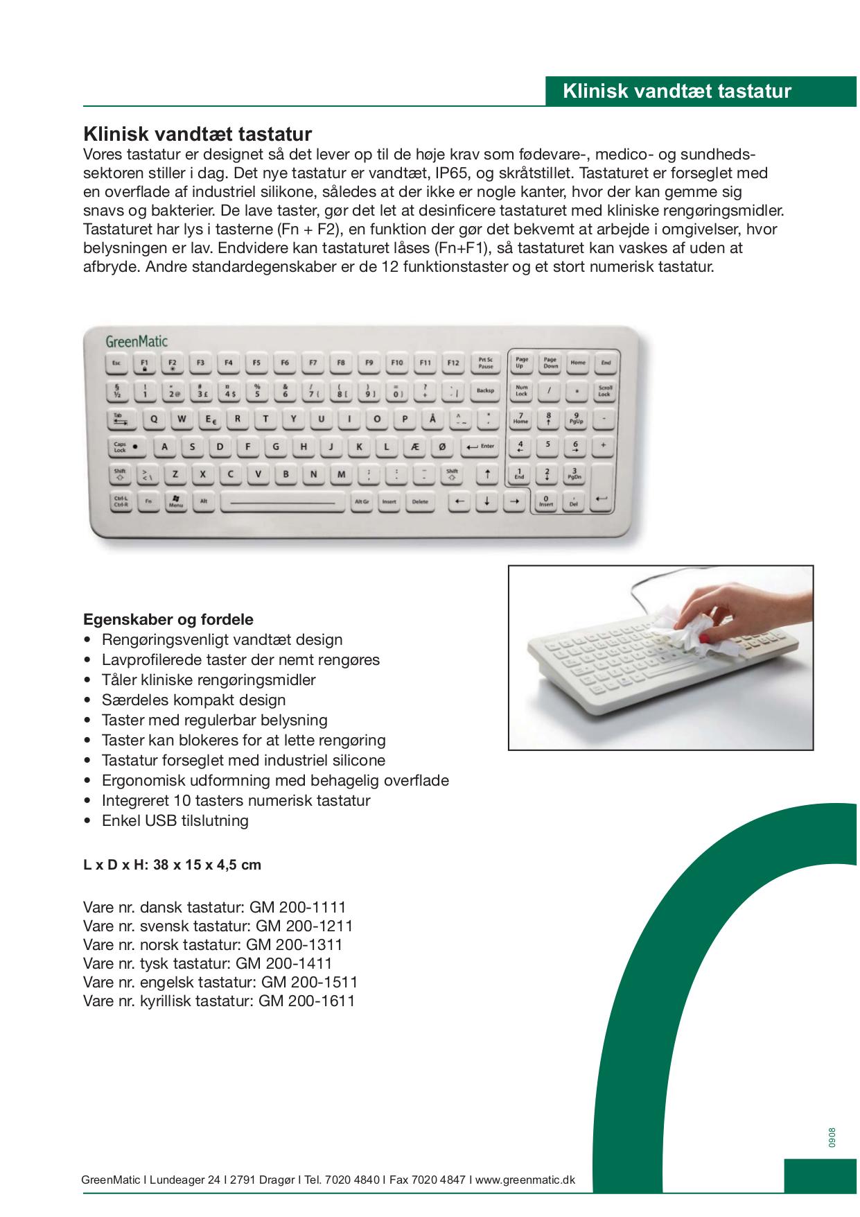 pdf for iKey Keyboard DT-5K-IS manual