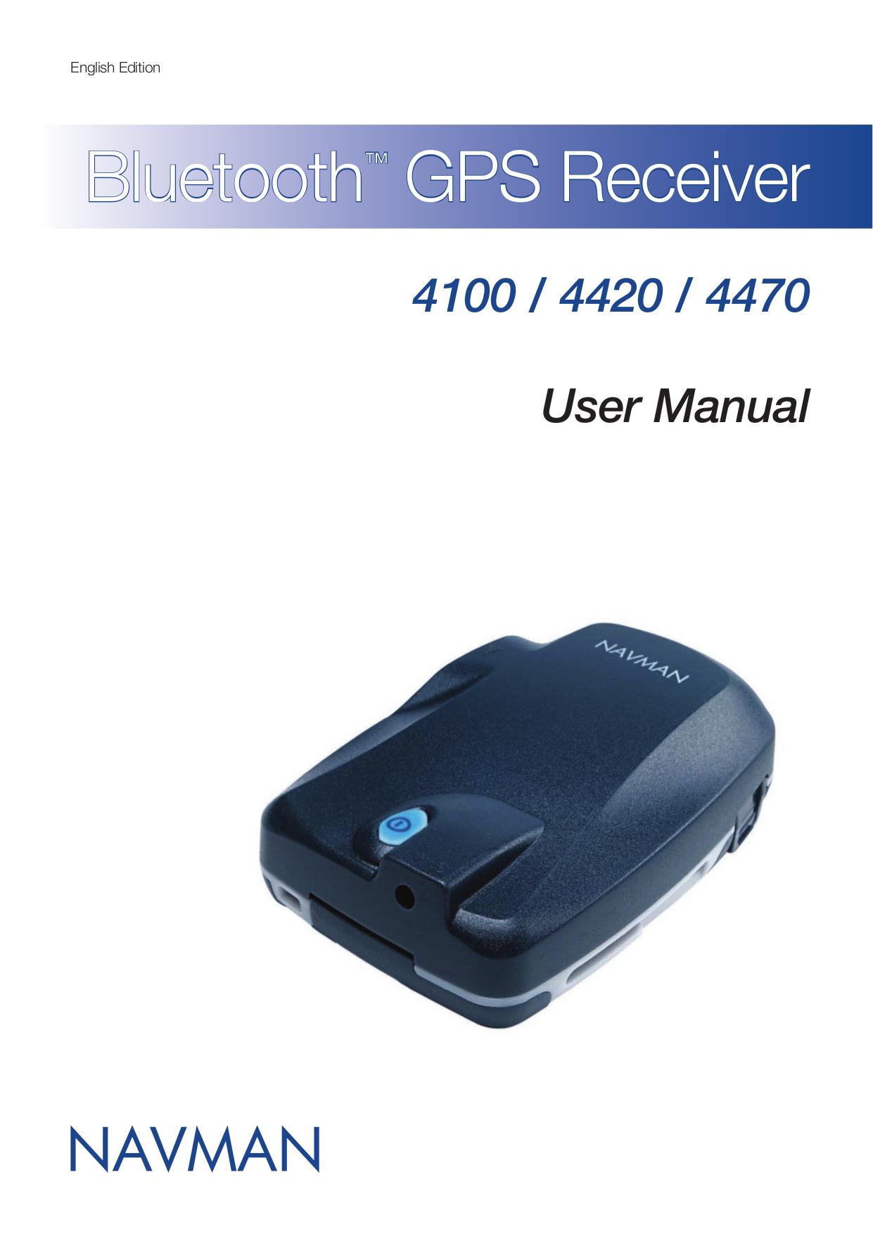 pdf for Navman GPS GPS4100 manual