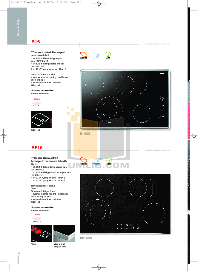 Baumatic Grill BGT1 pdf page preview