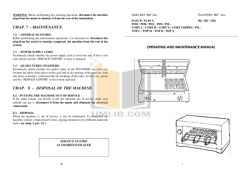 pdf for Baumatic Grill BGT1 manual