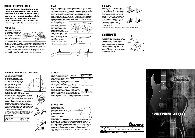 Ibanez Bass Manual Free Download Iceman Guitar Wiring Diagram Pdf For Btb305fm Rh Umlib Com Sr300 Gio Soundgear