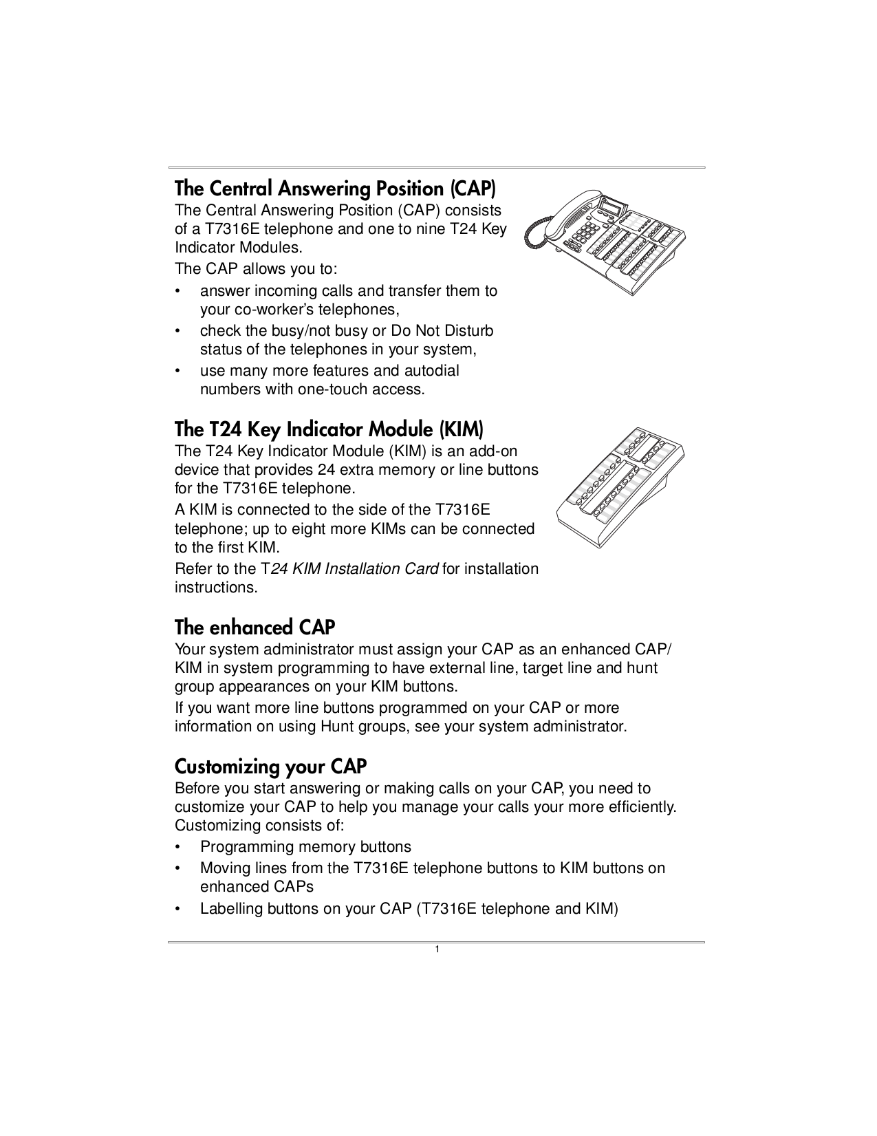 PDF manual for Nortel Telephone T24