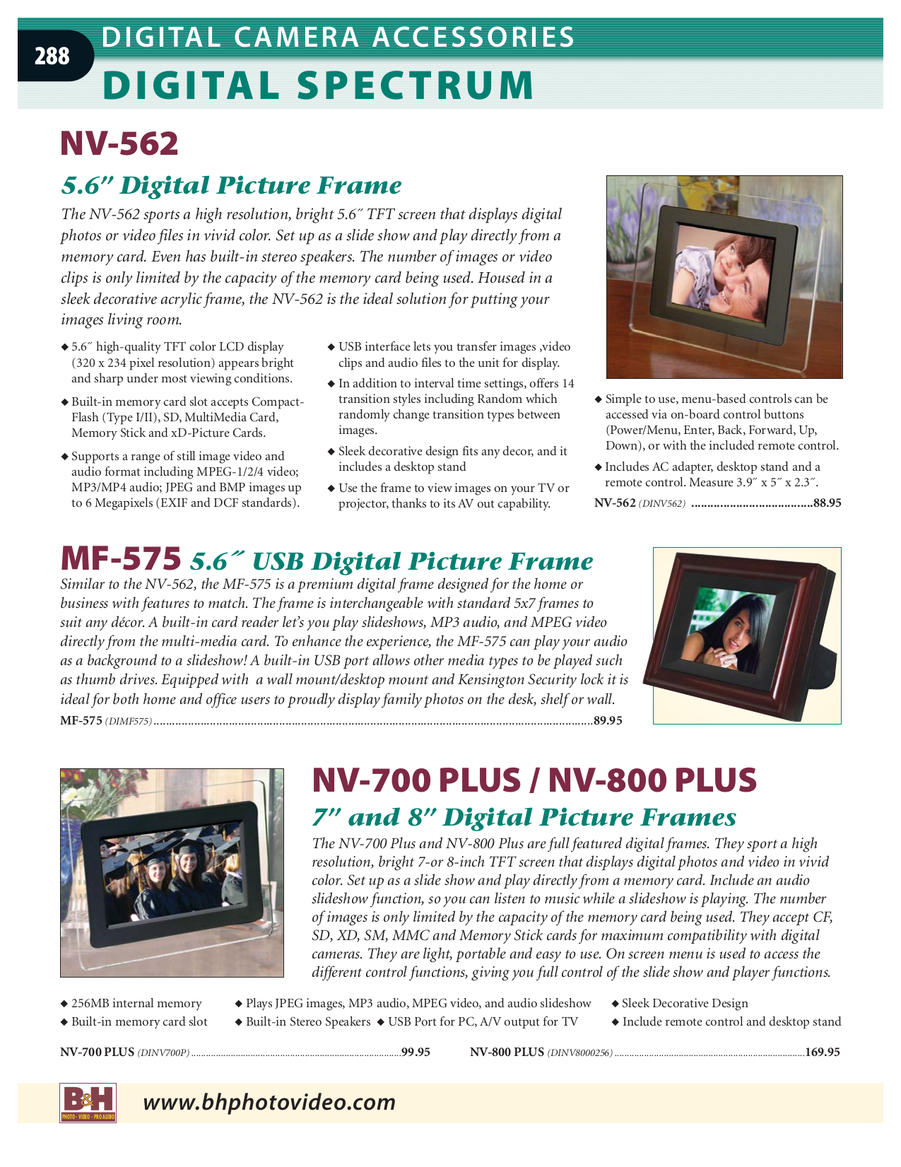 pdf for Kodak Digital Photo Frame EasyShare EX811 manual