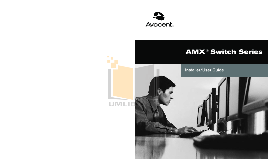 pdf for Avocent Switch AMX5020 manual