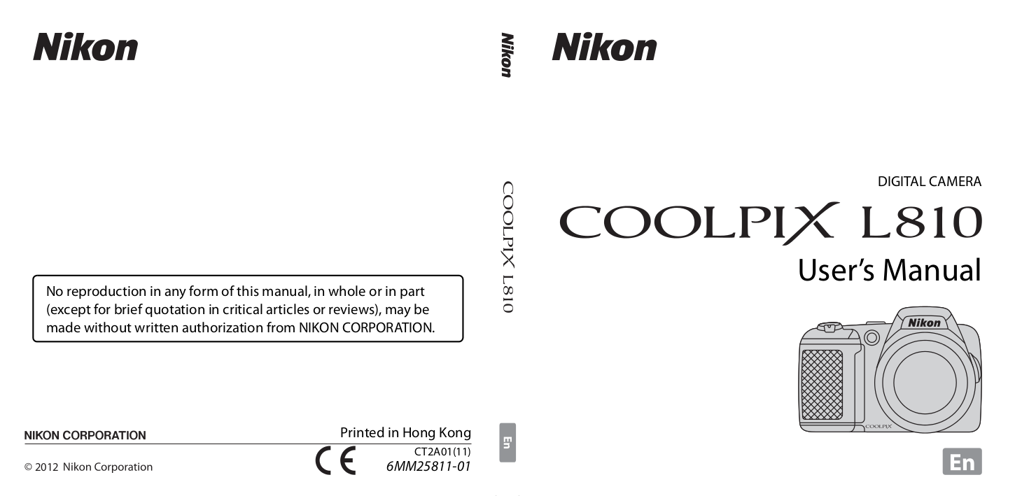pdf for Nikon Other EH-4 AC Camera AC Adapter manual