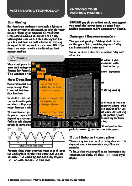 Braun Coffee Maker E20 pdf page preview