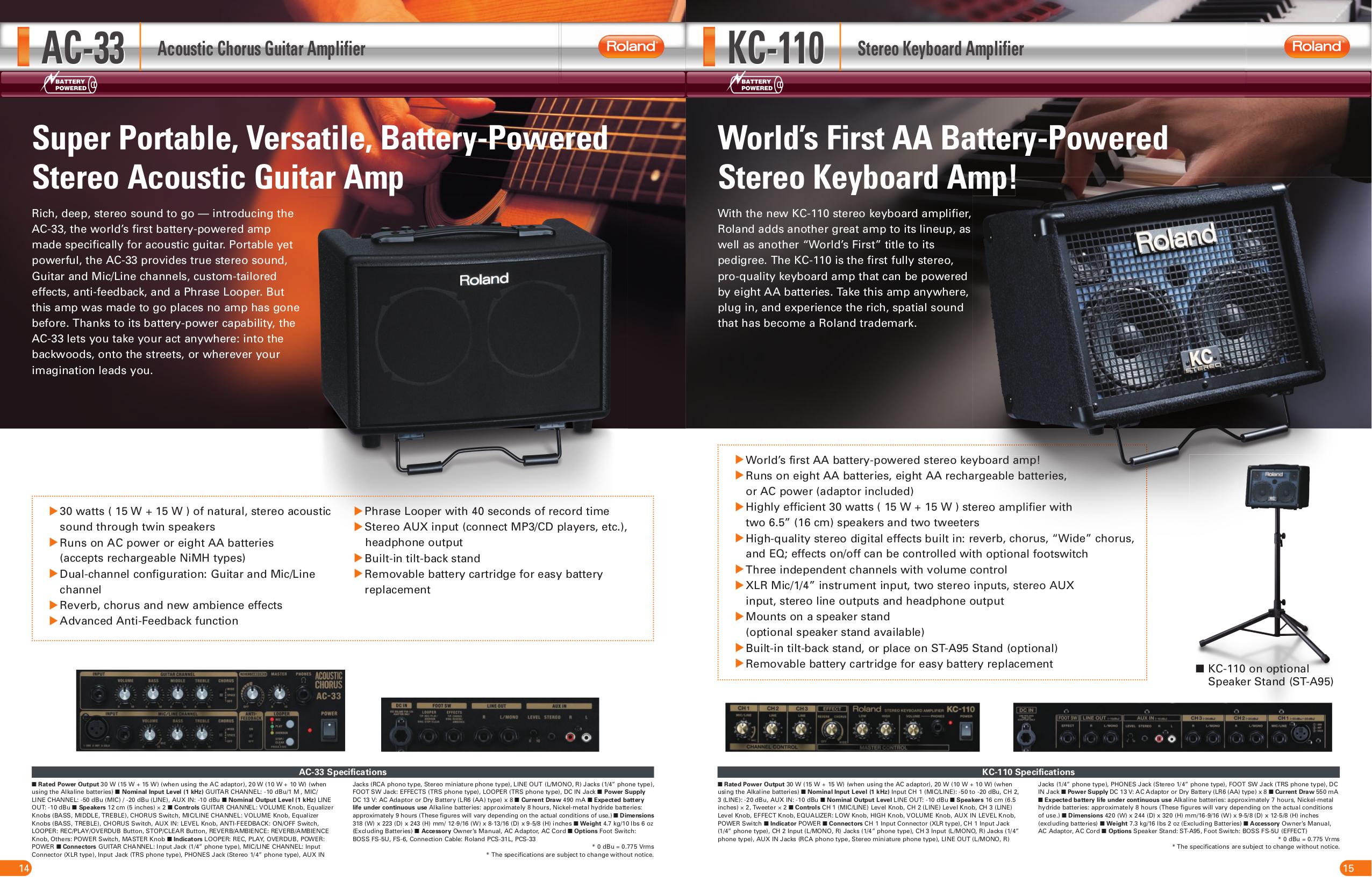 download free pdf for roland ac 33 amp manual rh umlib com roland a-33 manual pdf Roland Ac- 40