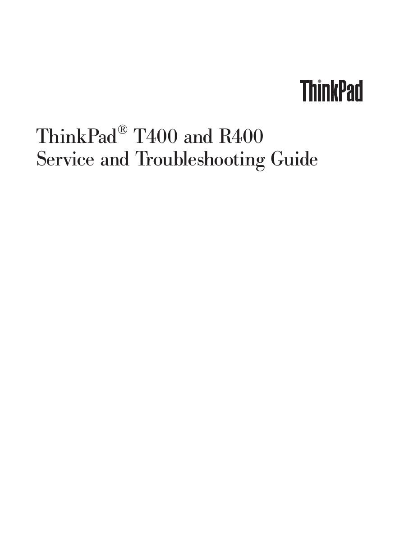 lenovo t400 user manual pdf