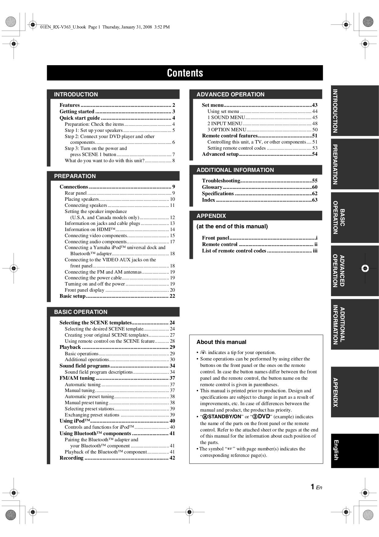 pdf manual for yamaha receiver htr 6130 rh umlib com yamaha htr 6130 manual pdf htr-6130 manual pdf