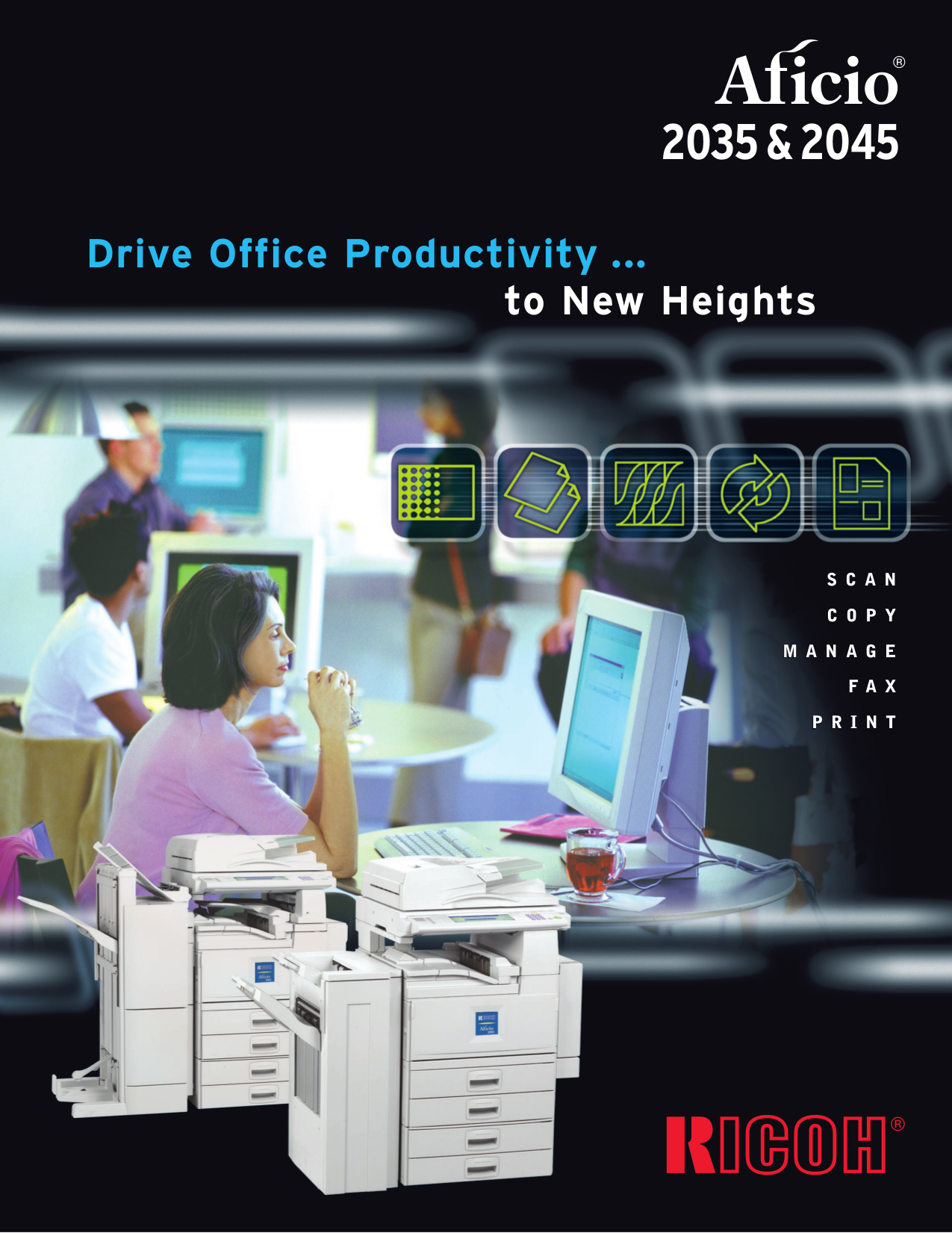 Ricoh Aficio 2035e Service Manual