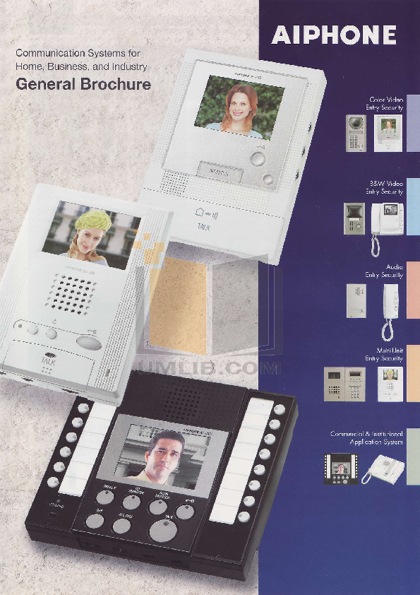 pdf for Aiphone Other MA-4U Intercoms manual