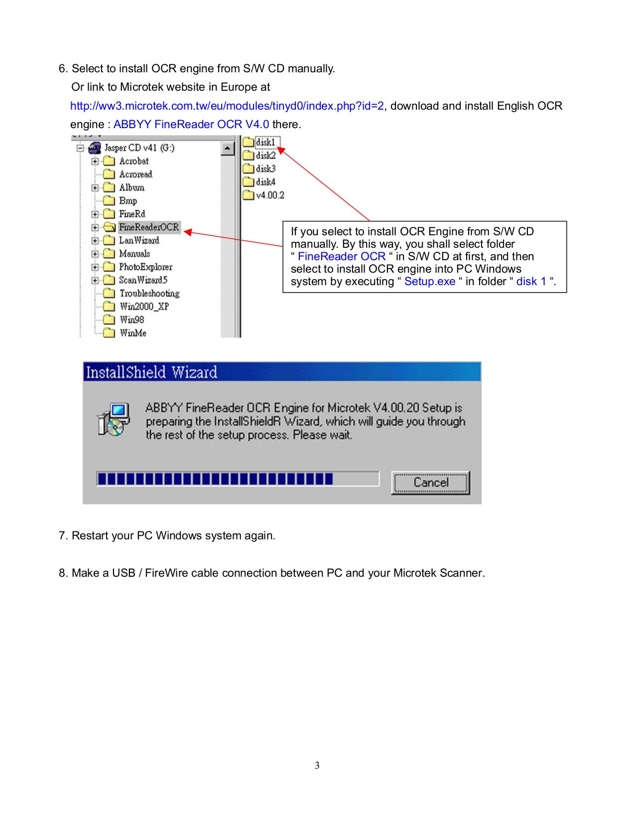 PDF manual for Microtek Scanner ScanMaker 4900