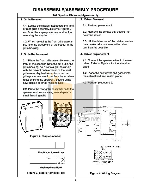 bose speaker 901 series iv pdf page preview