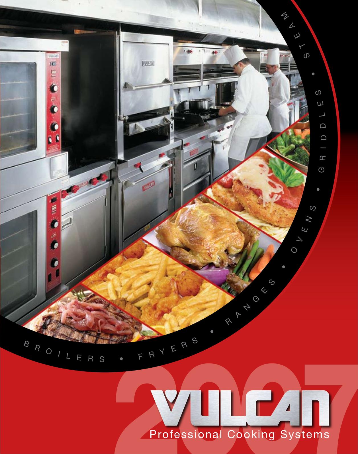 pdf for Vulcan Oven ESB36 manual