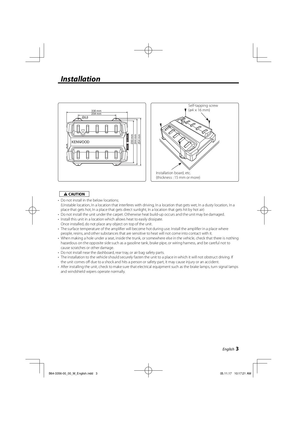 Pdf Manual For Kenwood Amp Kac