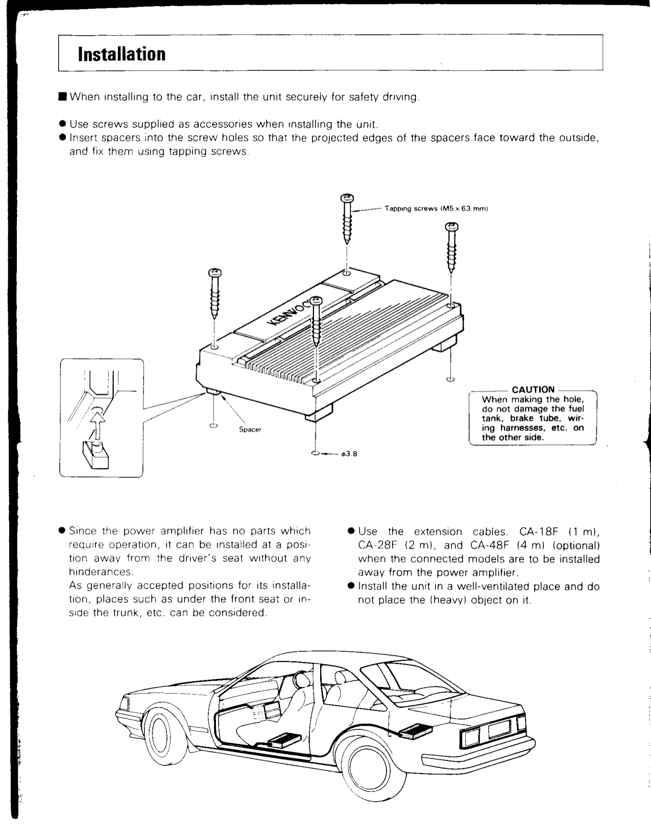 Pdf Manual For Kenwood Amp Kac 820