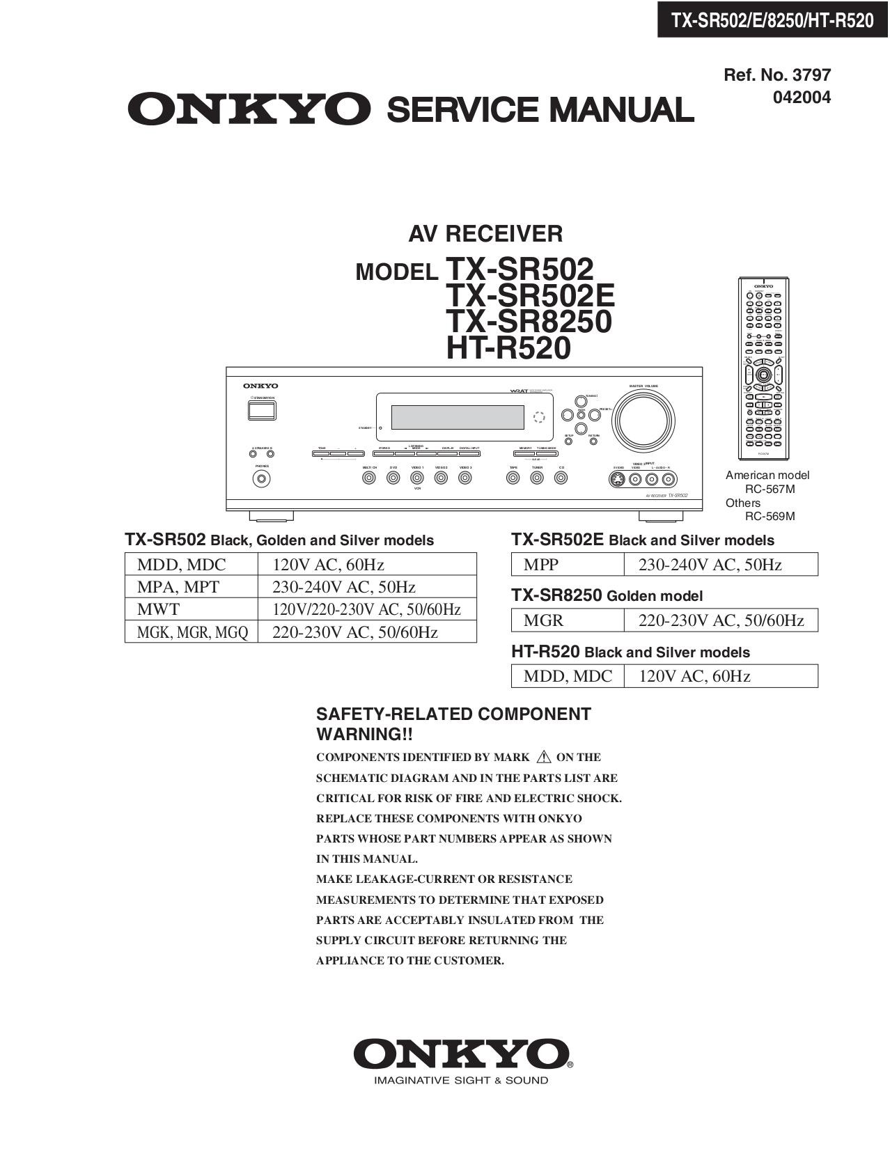 Onkyo TX SR502 SR 8250.pdf 0 download free pdf for onkyo ht r520 receiver manual  at gsmx.co