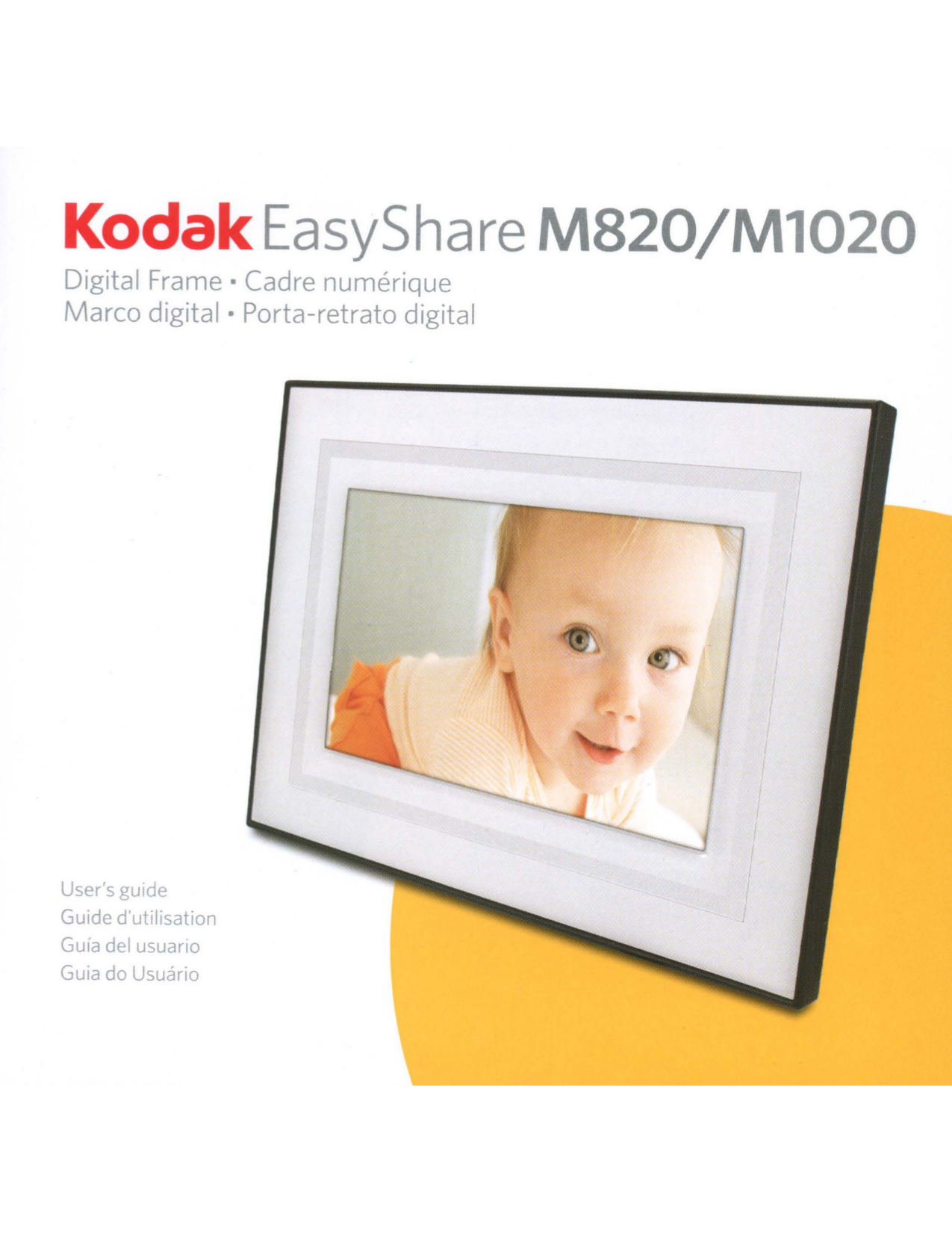 Download free pdf for Kodak EasyShare M820 Digital Photo Frame manual
