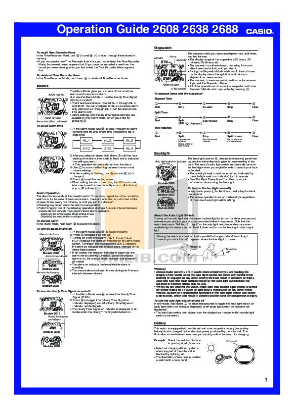 pdf manual for casio watch g shock dw6900 1v rh umlib com casio 2688 manual en español casio g shock 2688 manual pdf