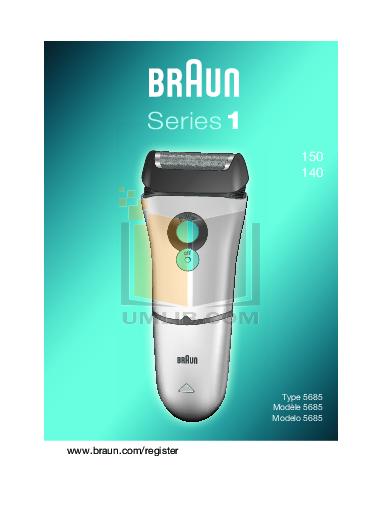 braun series 9 manual pdf