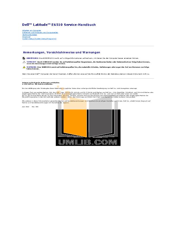 download free pdf for dell latitude e6510 laptop manual rh umlib com dell latitude e6410 manual download dell latitude e6410 manual download