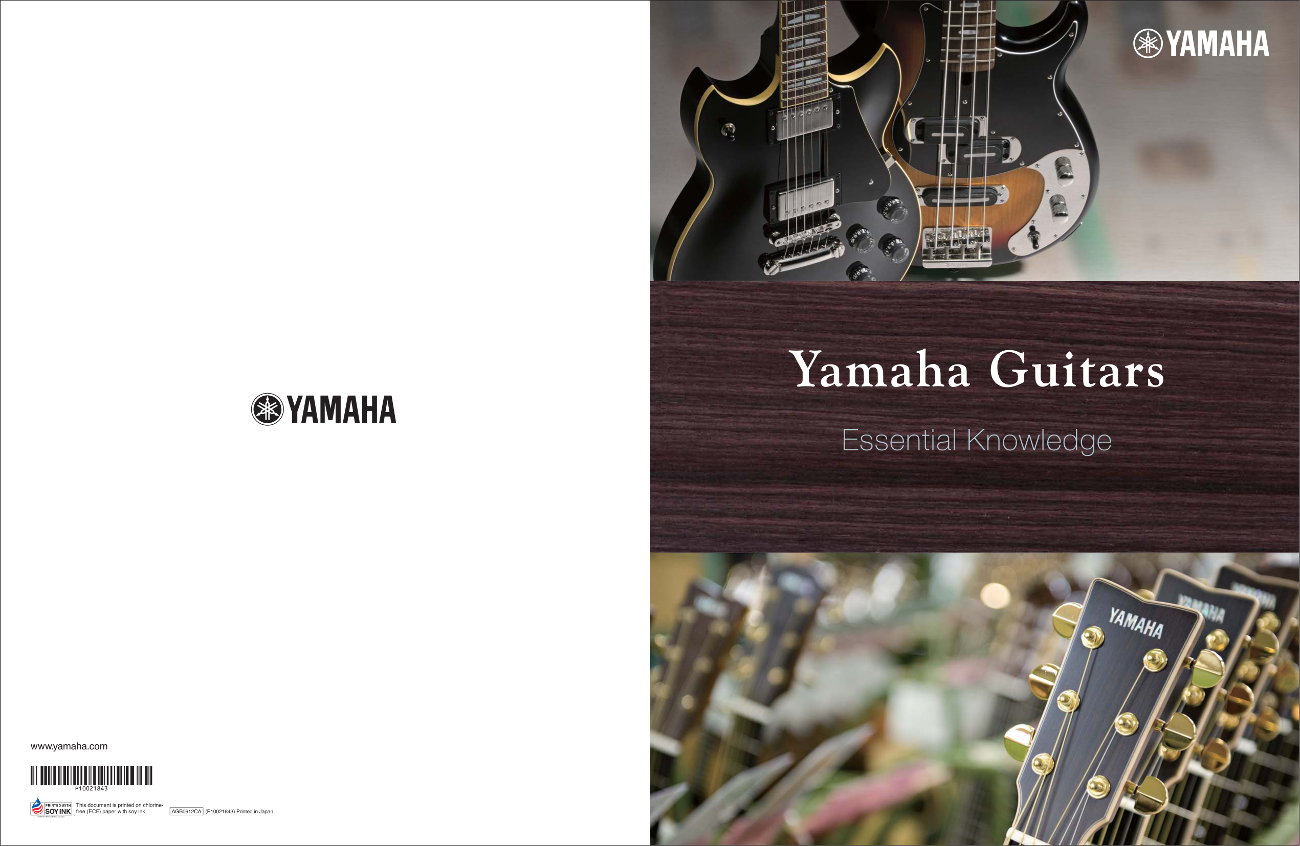 pdf for Yamaha Guitar NCX2000 manual