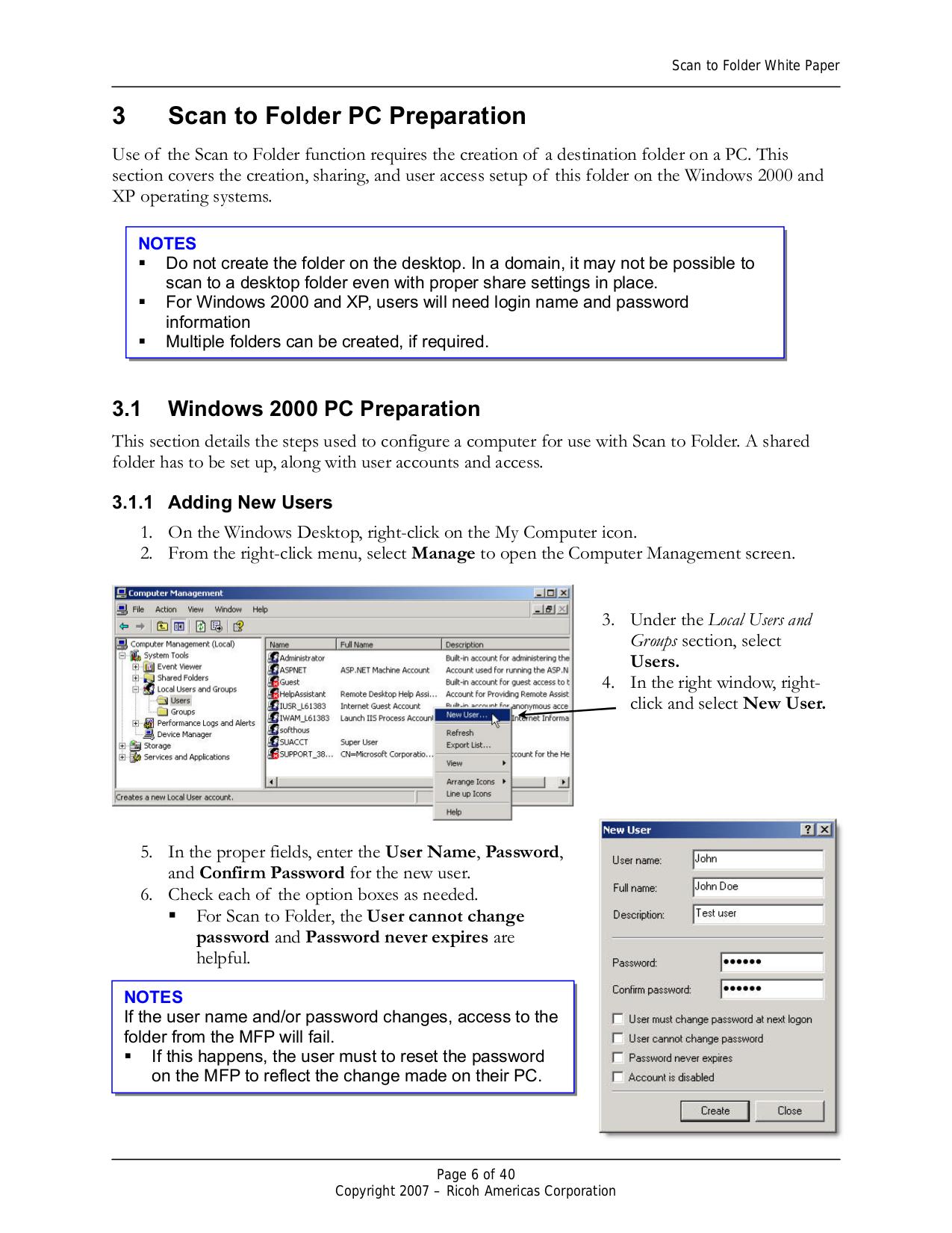 PDF manual for Ricoh Multifunction Printer Aficio 3045
