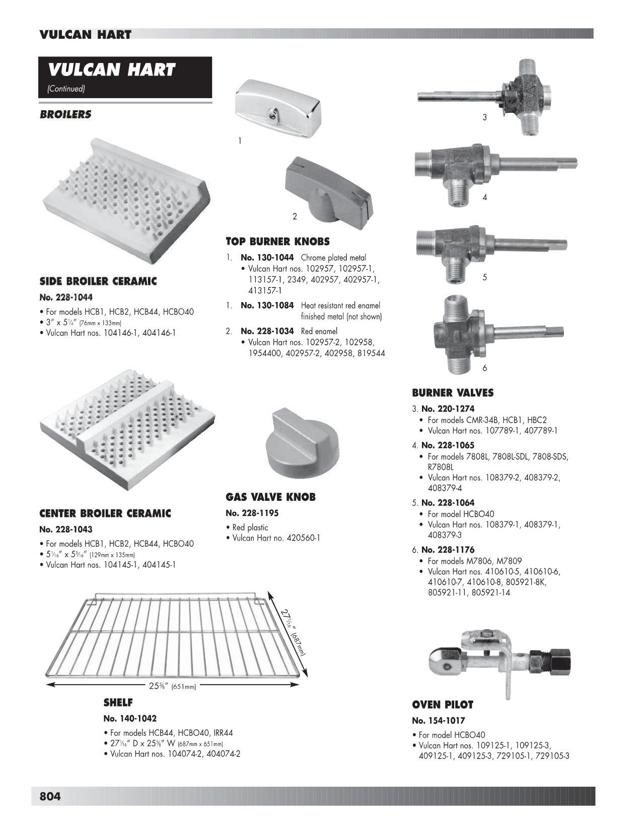 Vulcan Oven VB73R pdf page preview