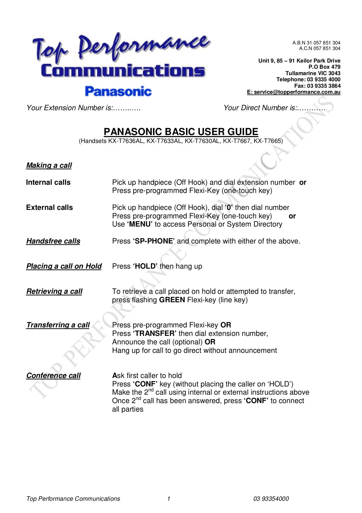 download free pdf for panasonic kx t7667 telephone manual rh umlib com Panasonic Kx Phone Manual Tgf350 Panasonic Kx Phone Manual Tgf350