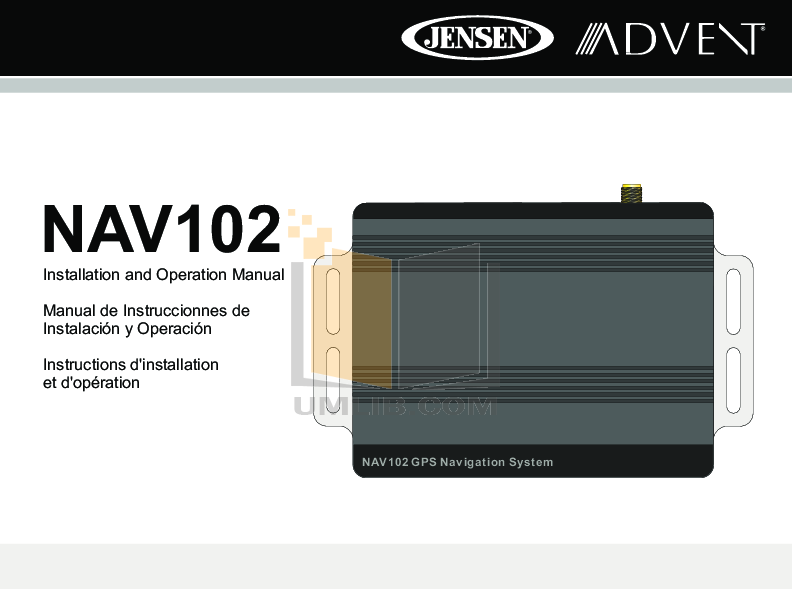 pdf for Audiovox Car Receiver VM9312HD manual