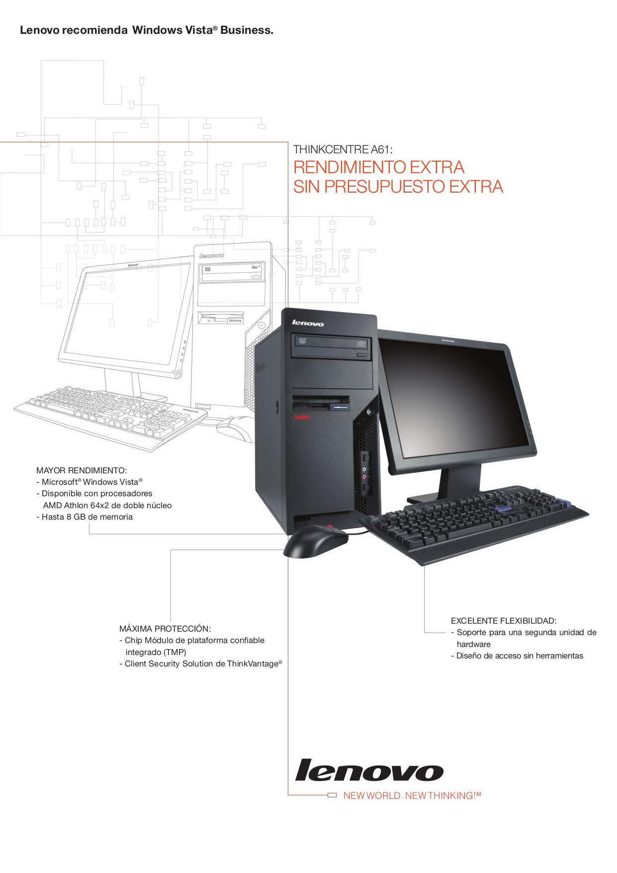 pdf for Lenovo Desktop ThinkCentre A61 9120 manual