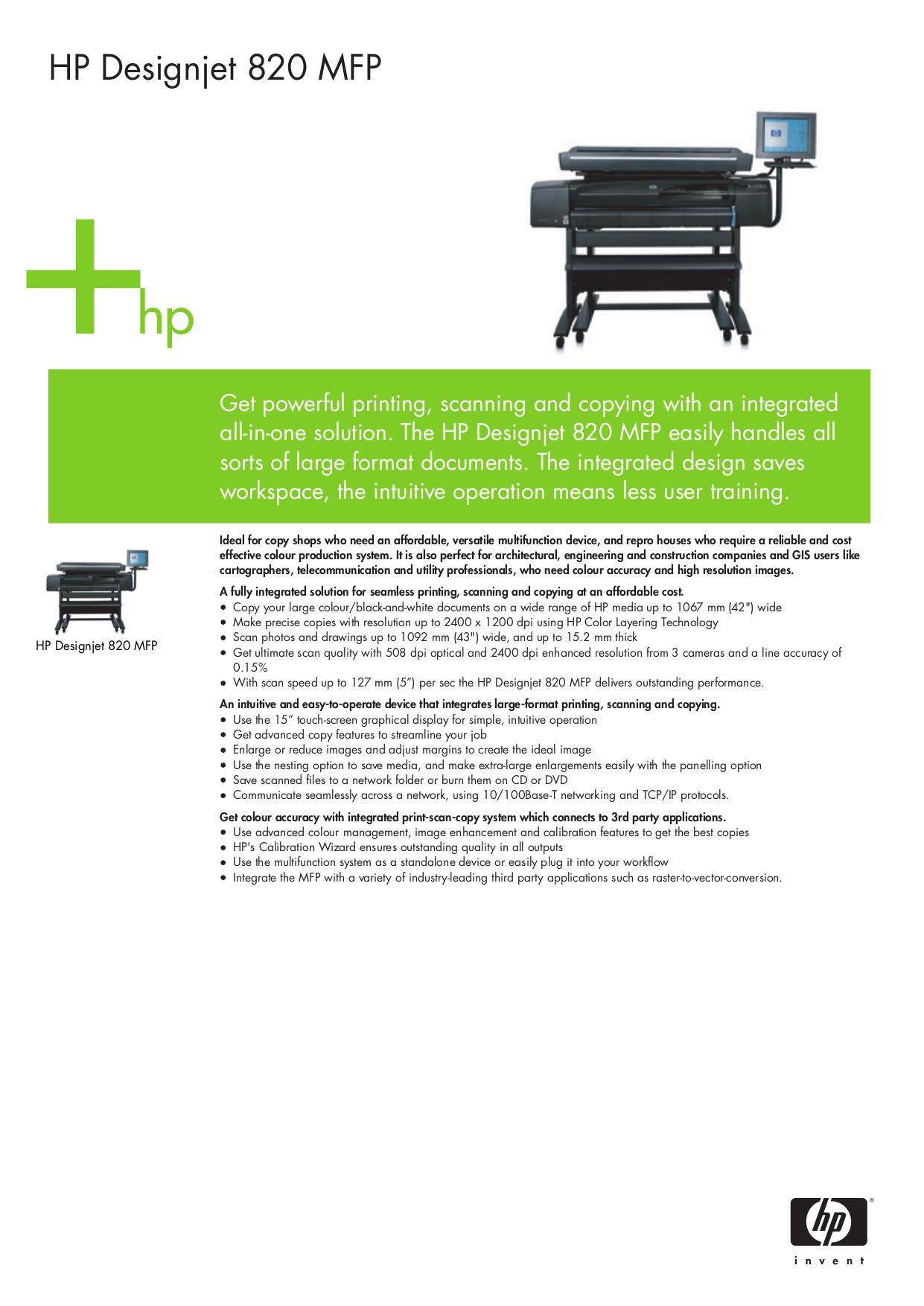download free pdf for hp designjet 820 mfp multifunction printer manual rh umlib com hp designjet 820 mfp manual HP Designjet Z6100