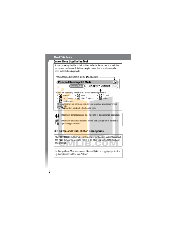 Canon Digital Camera IXUS i5 pdf page preview