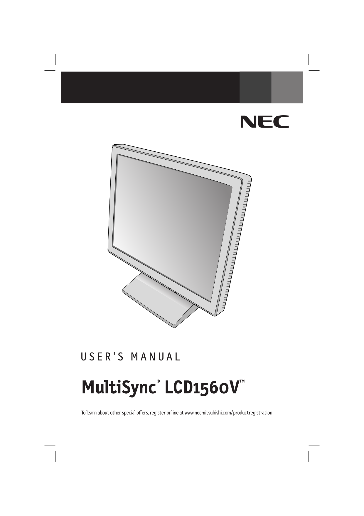Nec online manual array download free pdf for nec multisync lcd1560v monitor manual rh umlib com fandeluxe Image collections