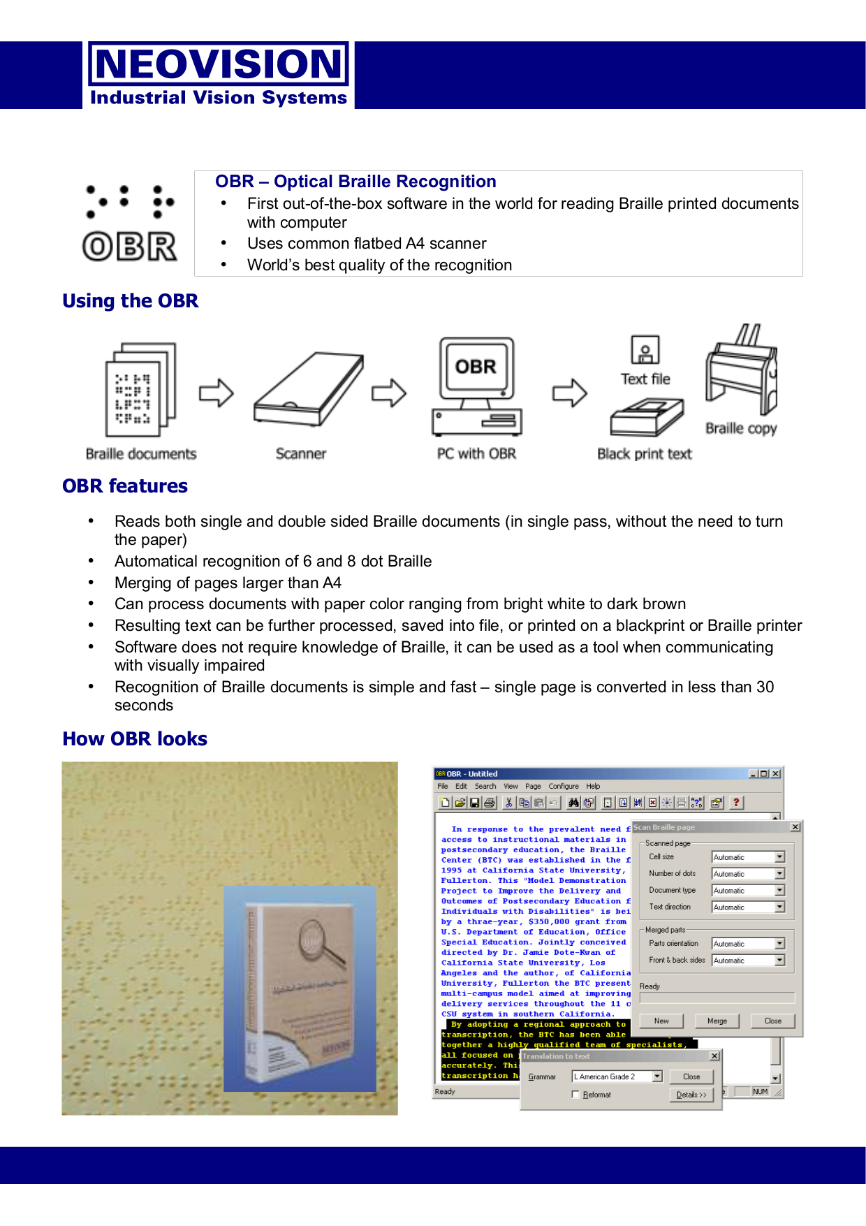 pdf for Umax Scanner Astra 6450 manual