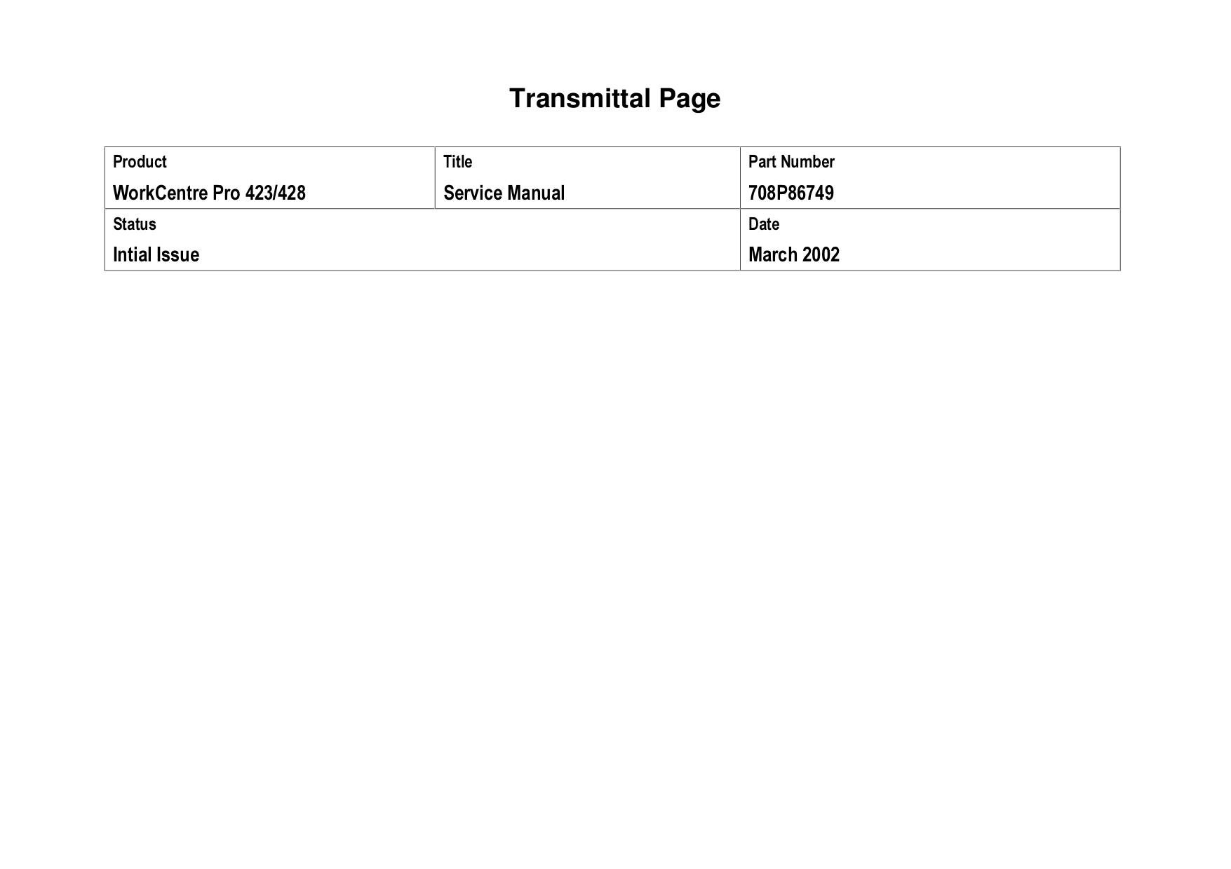 pdf for Xerox Copier CopyCentre 245 manual