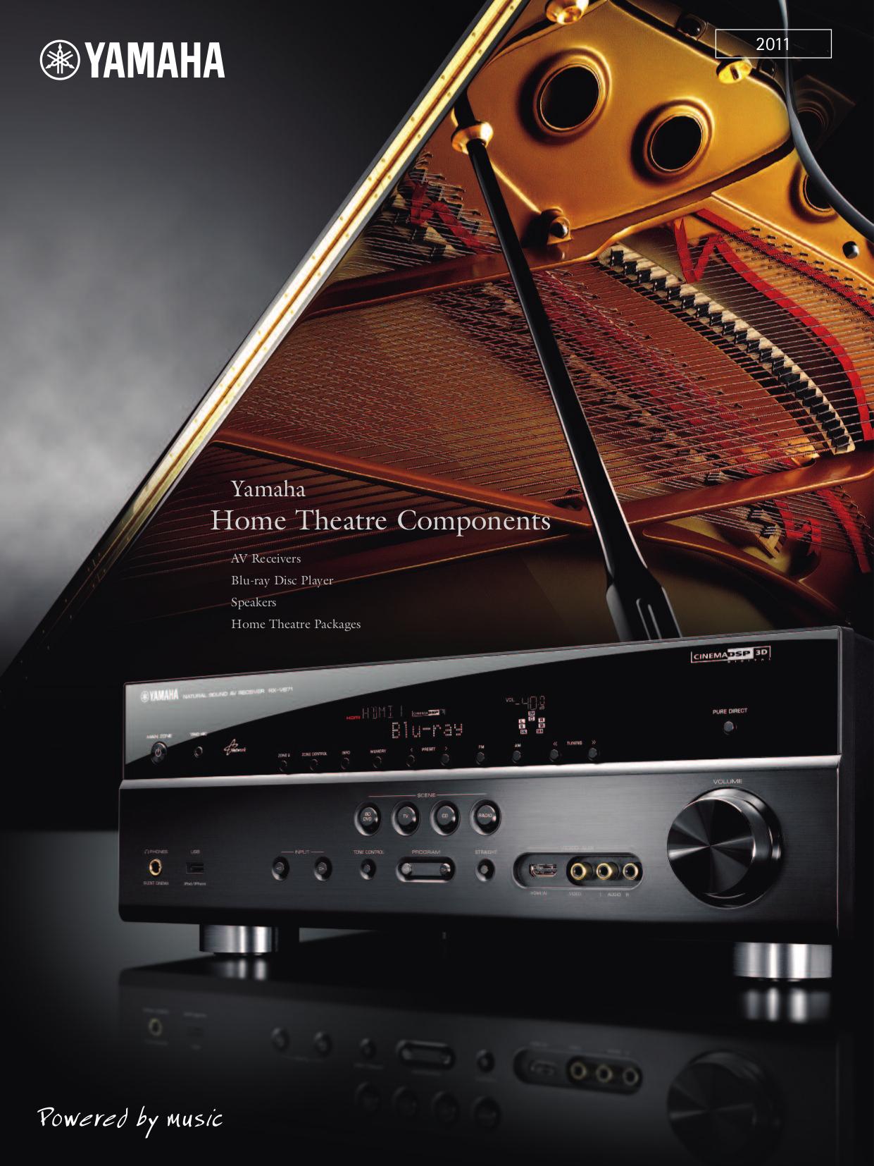 Download free pdf for Yamaha RX-V371 Receiver manual