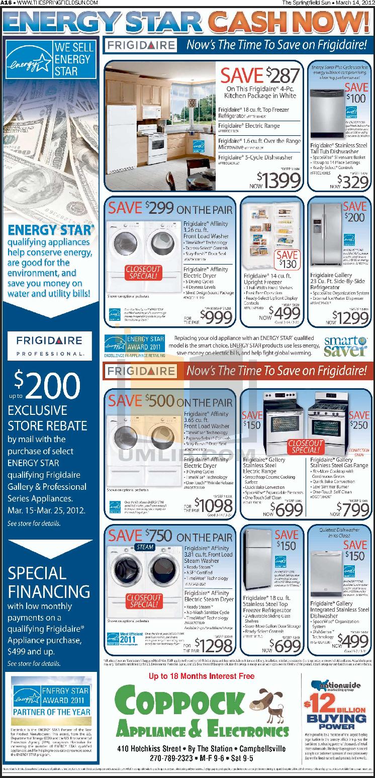 pdf for Frigidaire Refrigerator Gallery FGHC2342LF manual