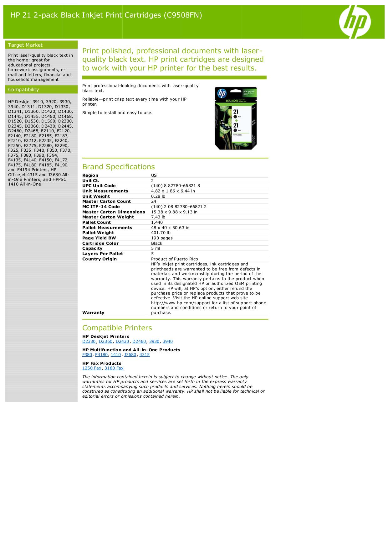 pdf for HP Multifunction Printer Deskjet F325 manual