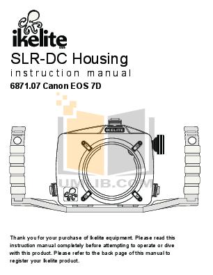 pdf for Canon Digital Camera EOS 7D manual