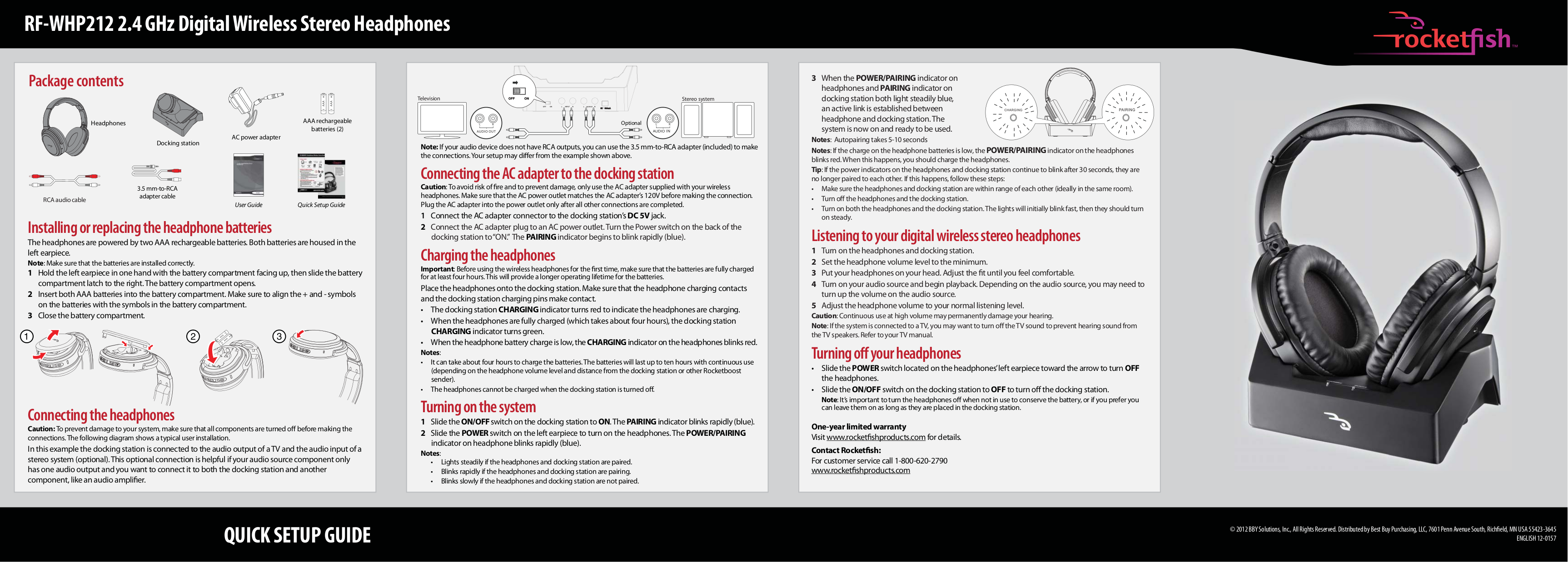 Download Free Pdf For Rca Whp150 Headphone Manual To Schematic