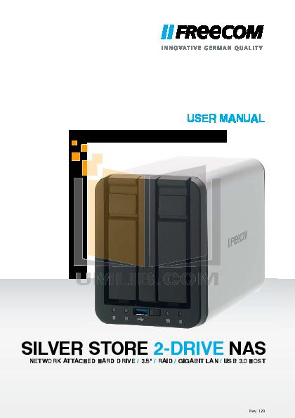 pdf for Freecom Storage Hard Drive XL manual
