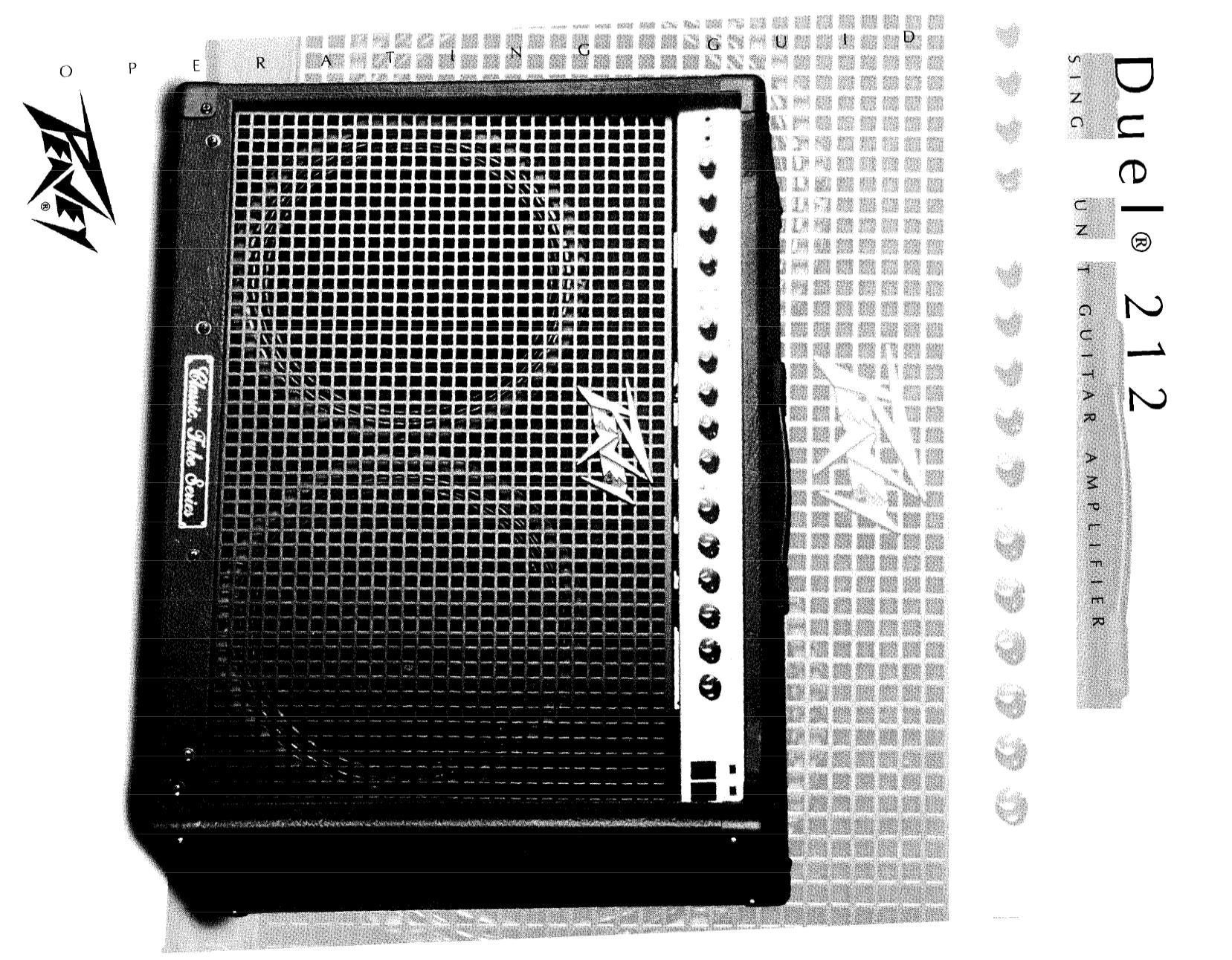 pdf for Peavey Guitar G-90 manual