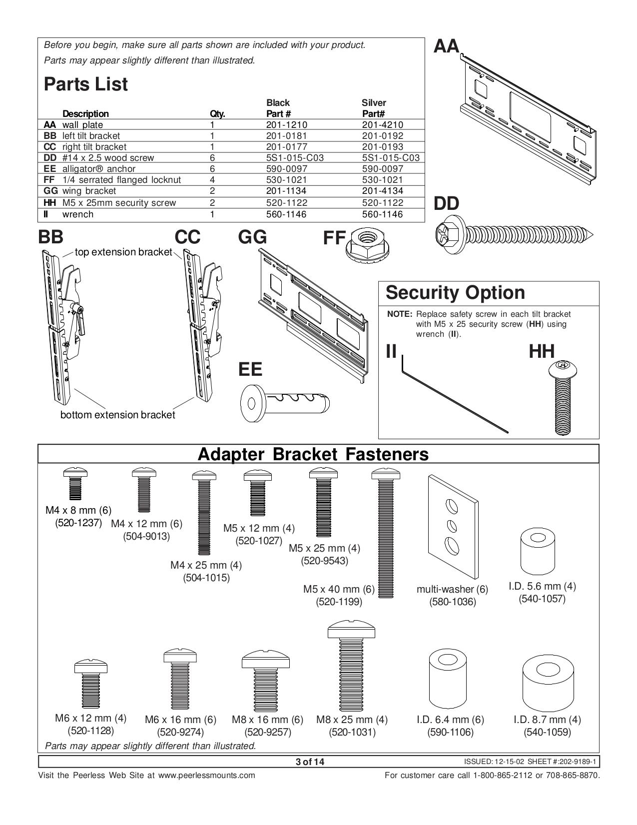 LG Monitor MU-42PZ44VS pdf page preview