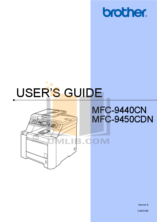 pdf for Brother Fax Machine FAX-175 manual