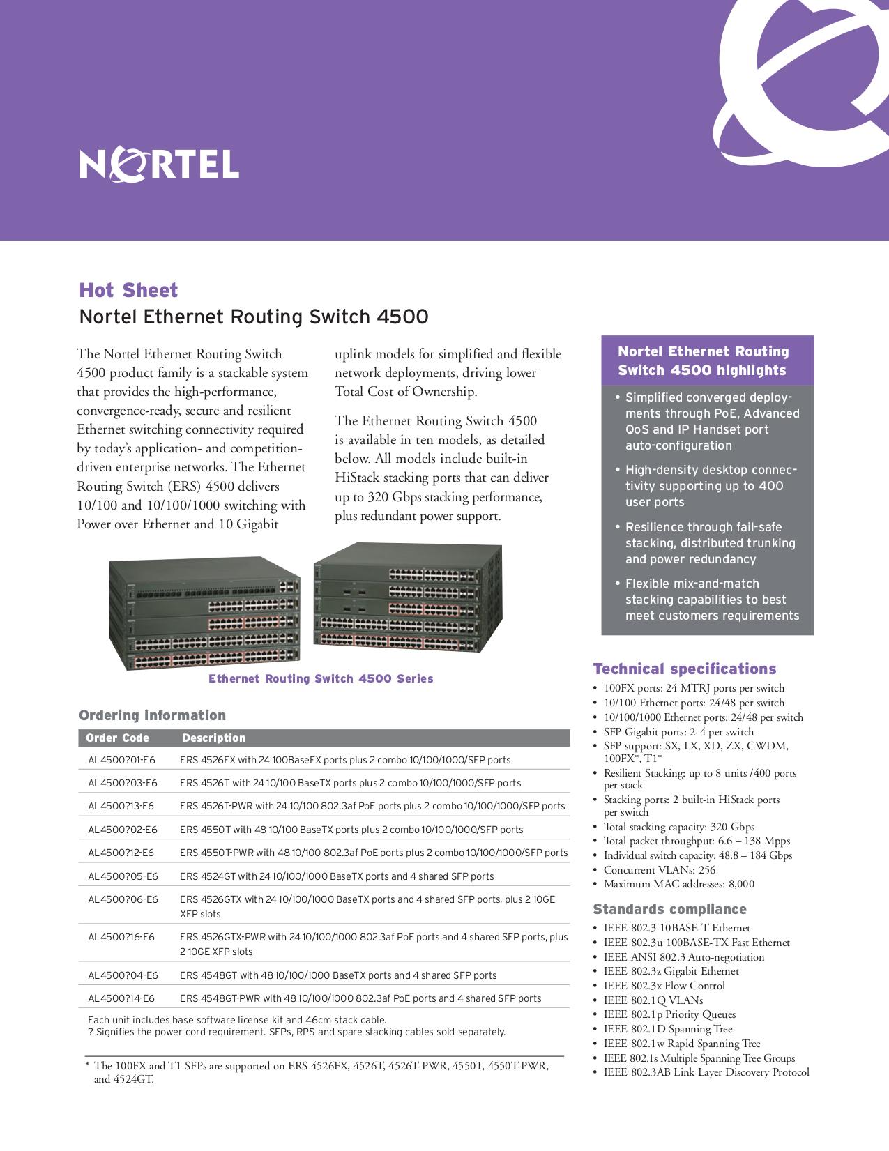 pdf for Nortel Switch 4548GT-PWR manual